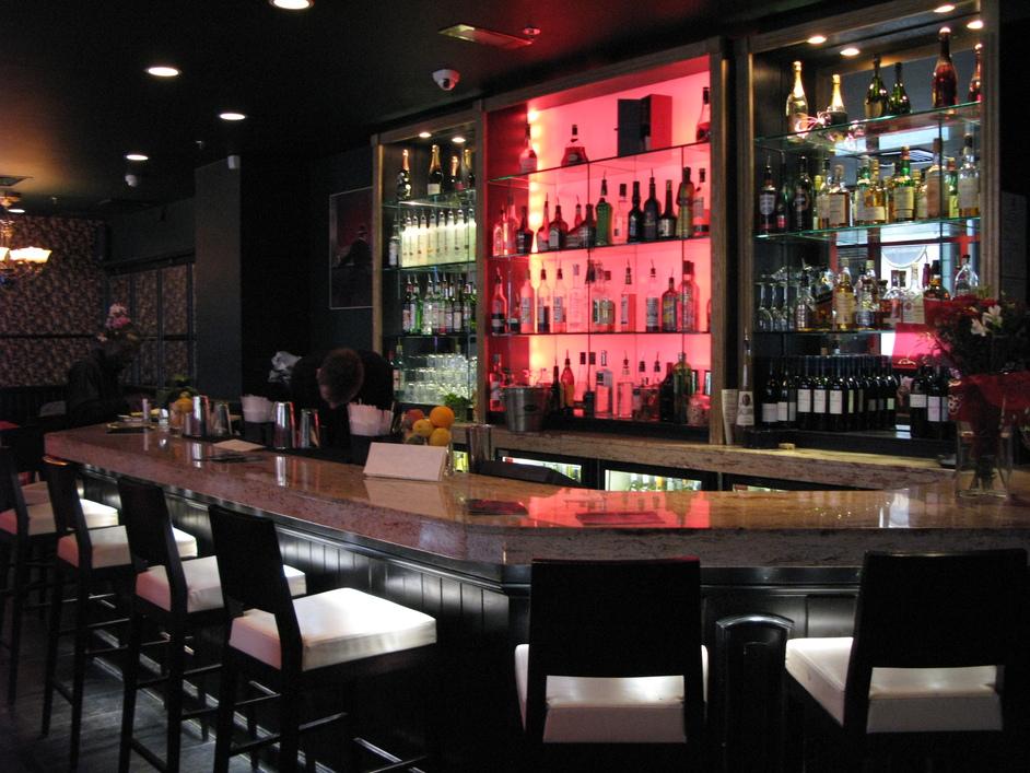 Volupte - The Volupte bar on the ground floor.