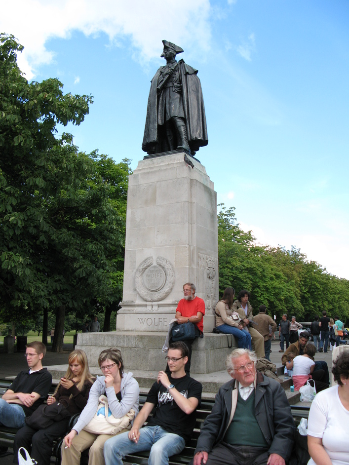 Greenwich Park - James Wolfe