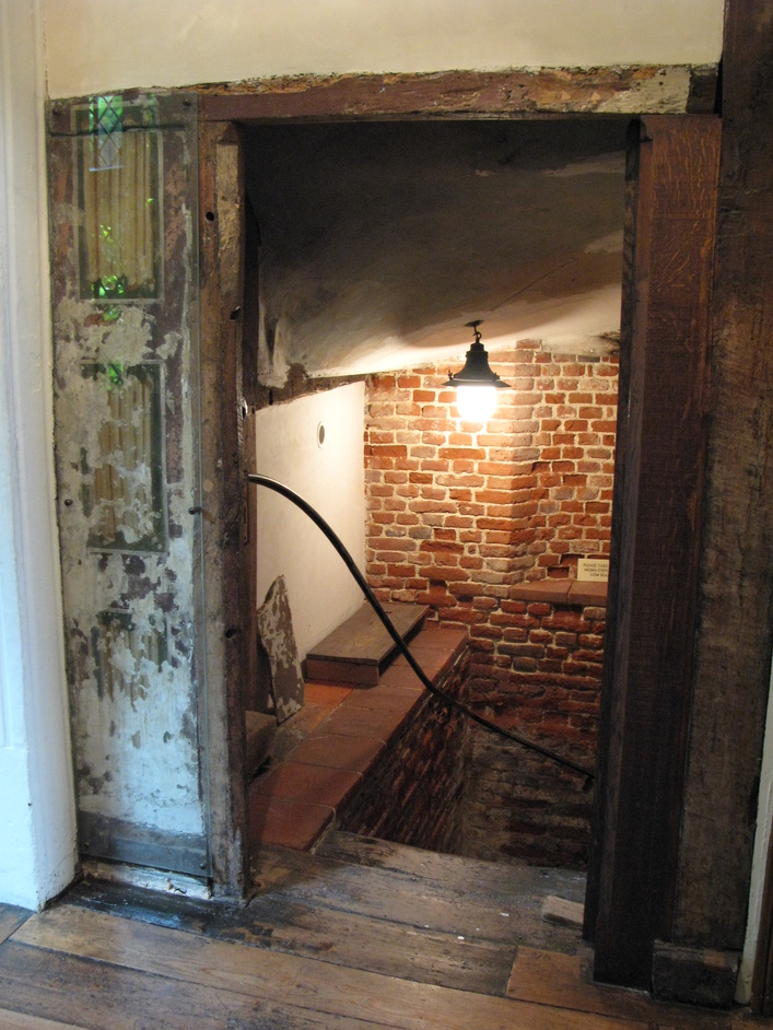 Sutton House - To the basement