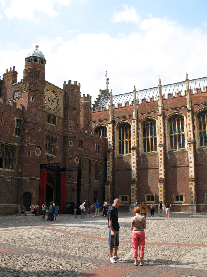 Hampton Court Palace - Clock Court
