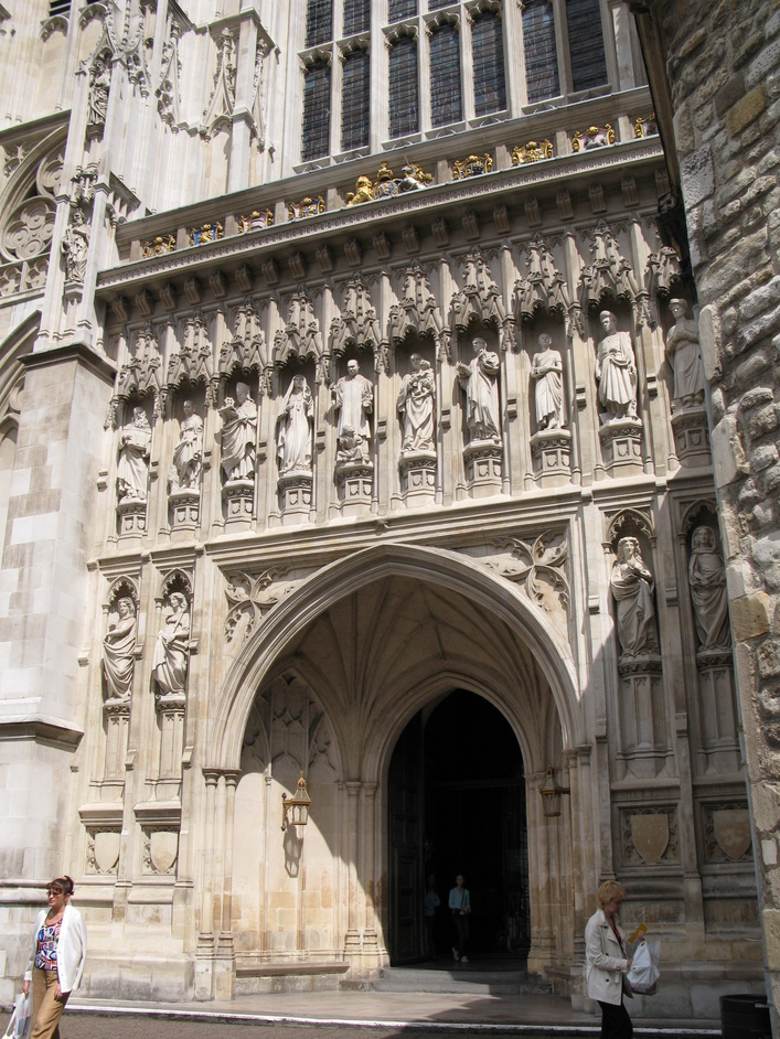 Westminster Abbey - The exit