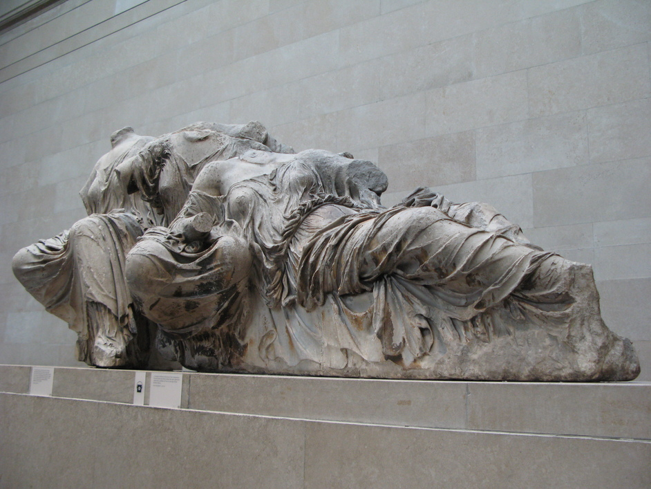 British Museum - Part of the Elgin Marbles, also known as the Parthenon Sculptures