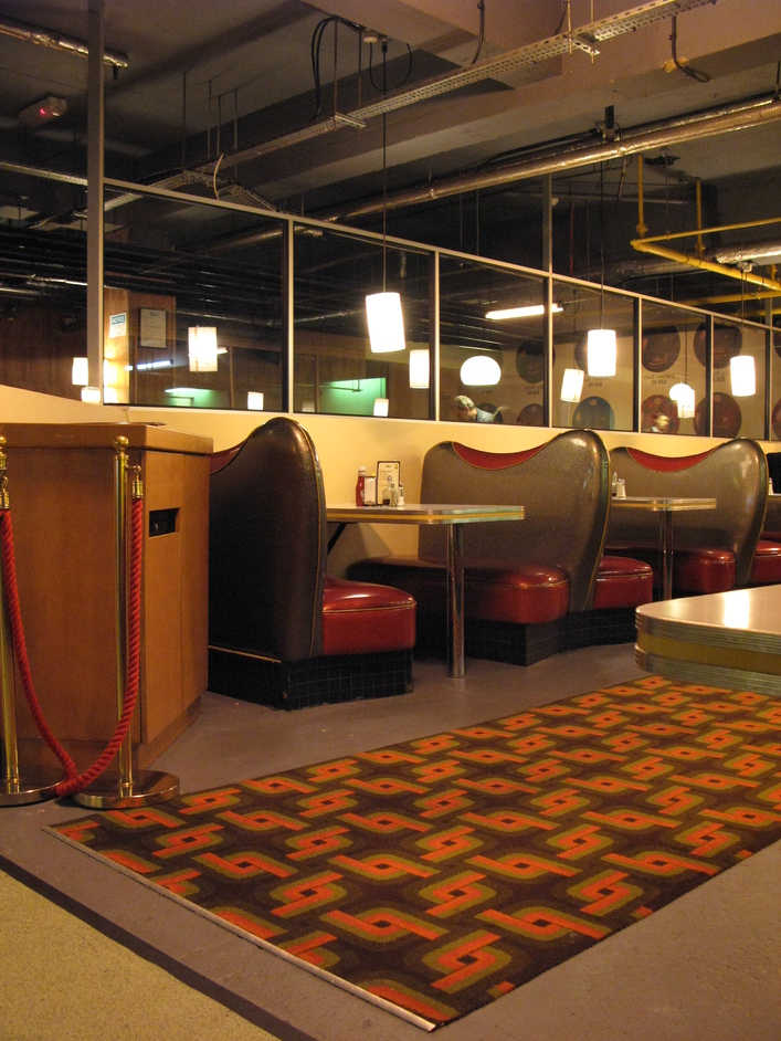 Bloomsbury Lanes - Loveseats - part of the Diner