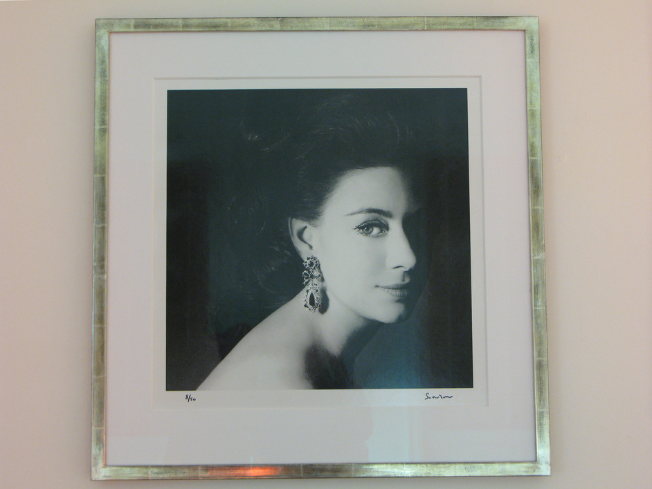 Kensington Palace - Princess Margaret, picture by Lord Snowdon