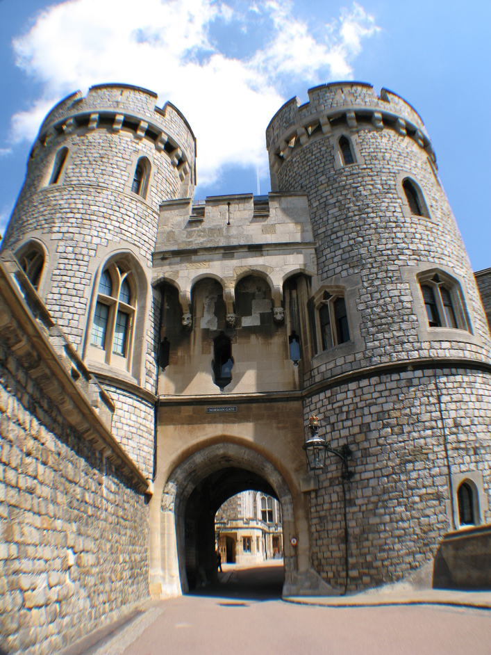 Windsor Castle - Norman Gate