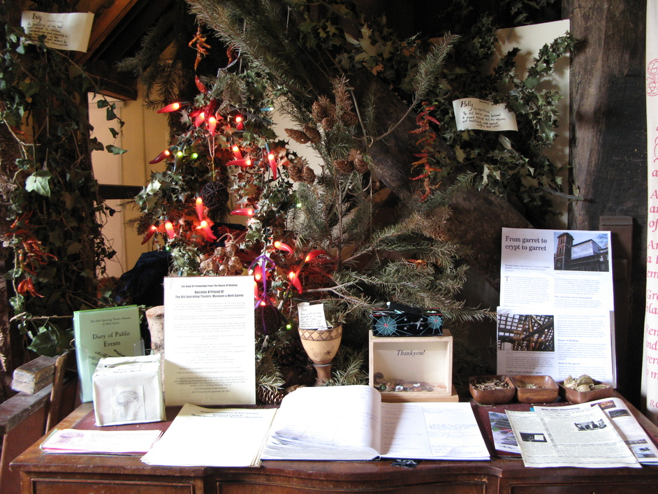 Old Operating Theatre Museum and Herb Garret - The greeting table