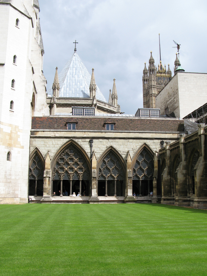 Westminster Abbey - Cloister and Monastic Precinct