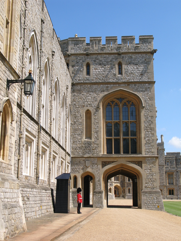 Windsor Castle - Guard at the State Entrance