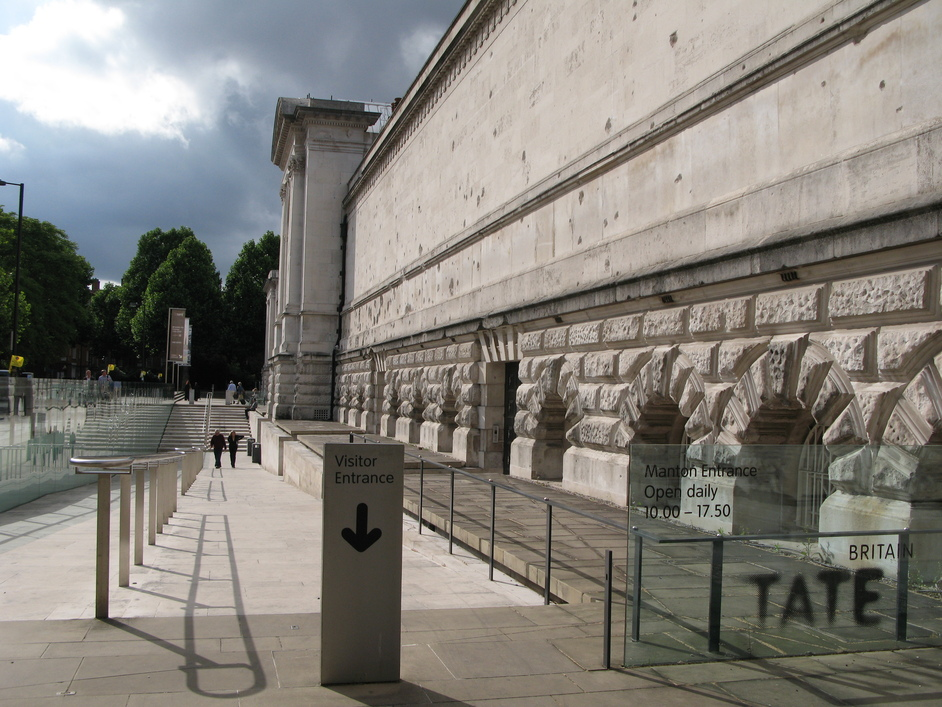 Tate Britain - One of the entrances to Tate Britain