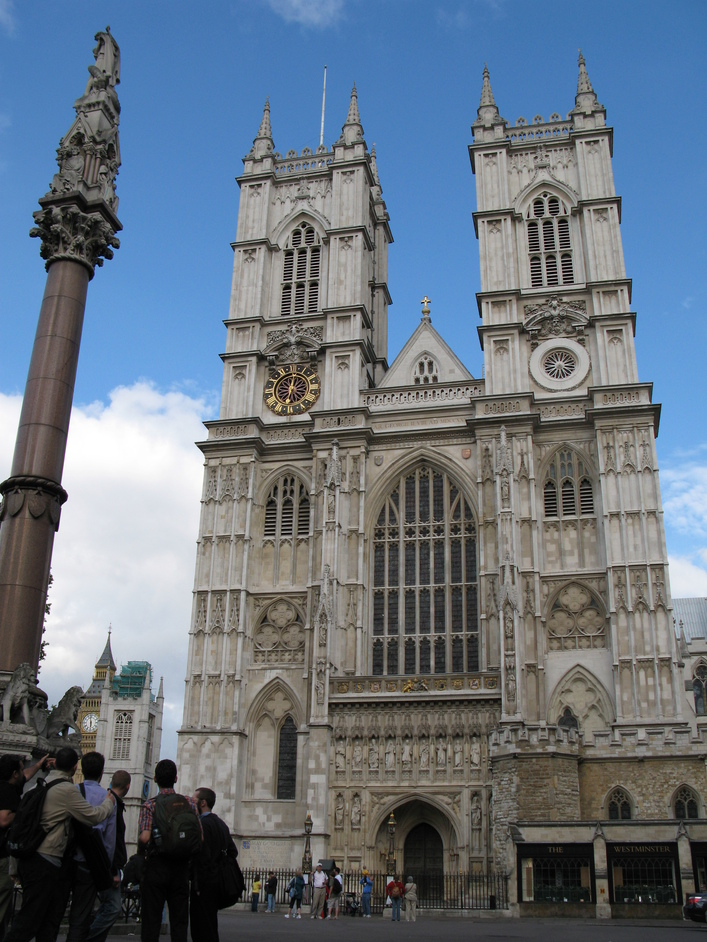 Westminster Abbey - View of the Exit