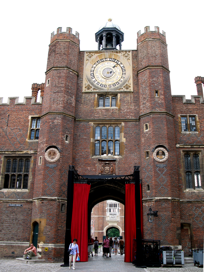 Hampton Court Palace - Clock tower at the Clock Court