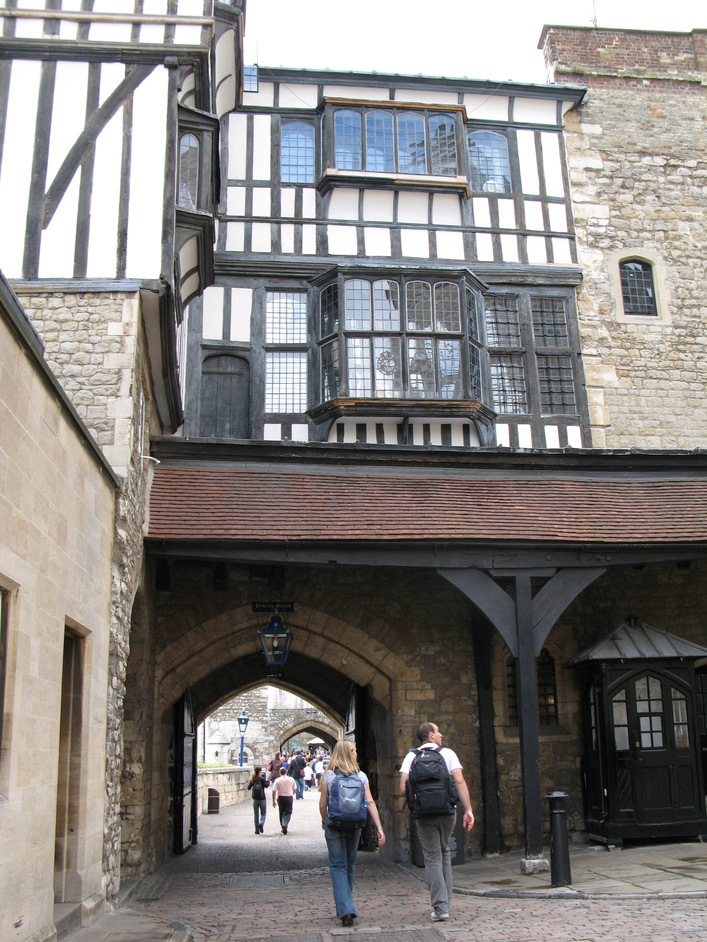 Tower Of London - Entrance and Exit