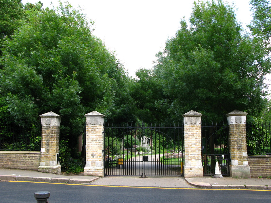 Highgate Cemetery - Entrance to the East Cemetery.