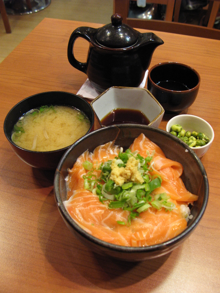 Toku Restaurant - Salmon rice bowl