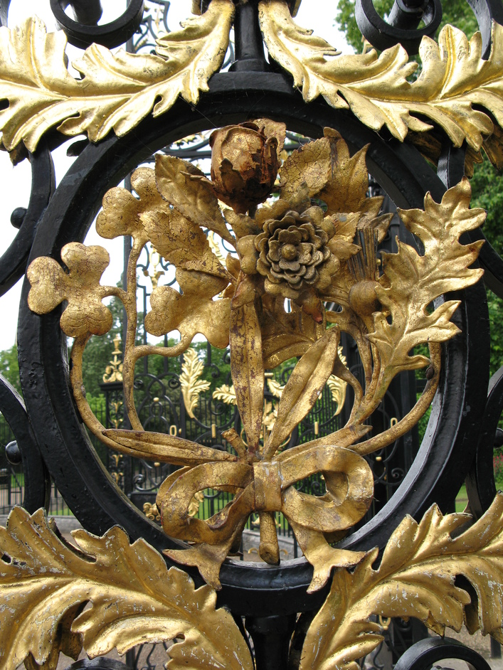 Kensington Palace - Detail of the gate