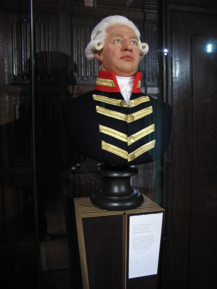 Kew Palace - Bust of King George III