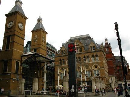 Liverpool Street Tube Station