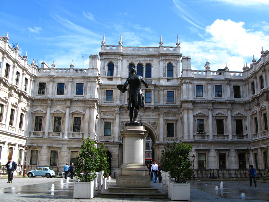 royal academy of arts images mayfair london