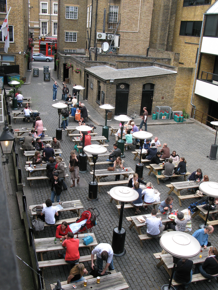 National Trust: George Inn, The George Inn Yard
