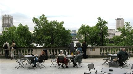 Tom's Terrace at Somerset House