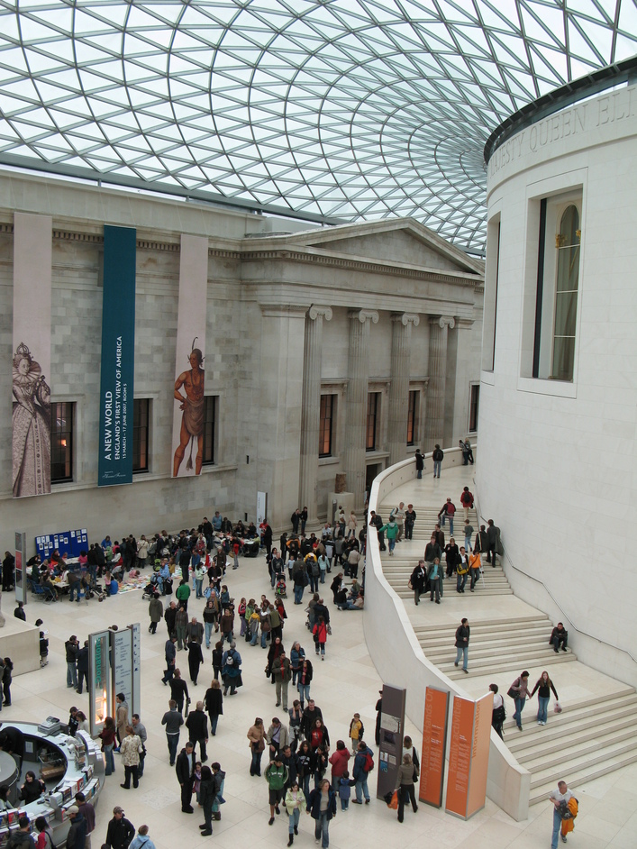 British Museum - The Great Court at the British Museum