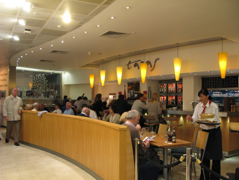 Harrods - Tapas Bar on the lower ground floor
