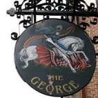 National Trust: George Inn, The George Inn Yard hotels title=