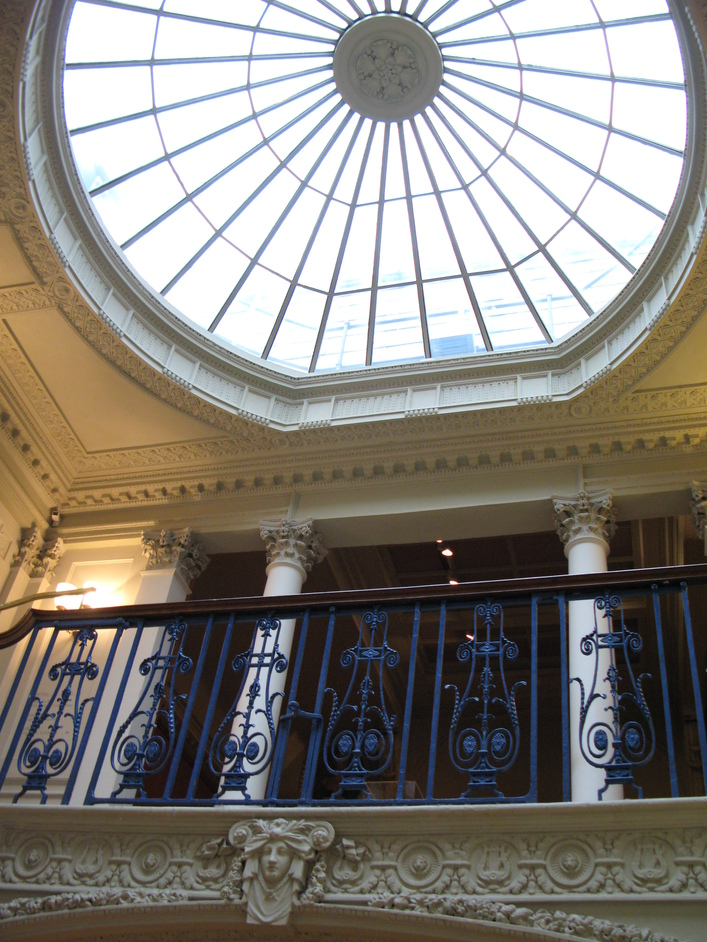 Courtauld Institute Gallery - Dome at the top of the stairwell
