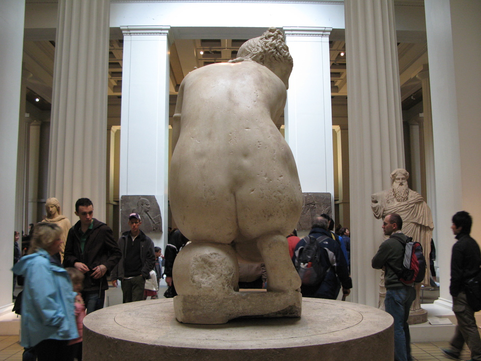 British Museum - Venus from the back