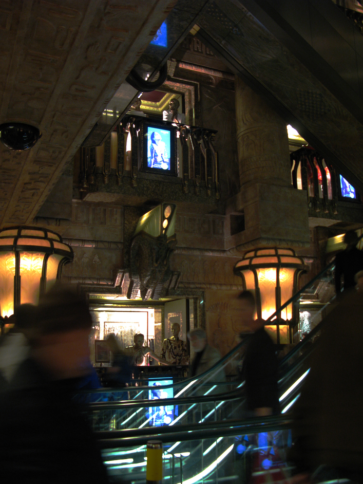 Harrods - Egyptian Escalators