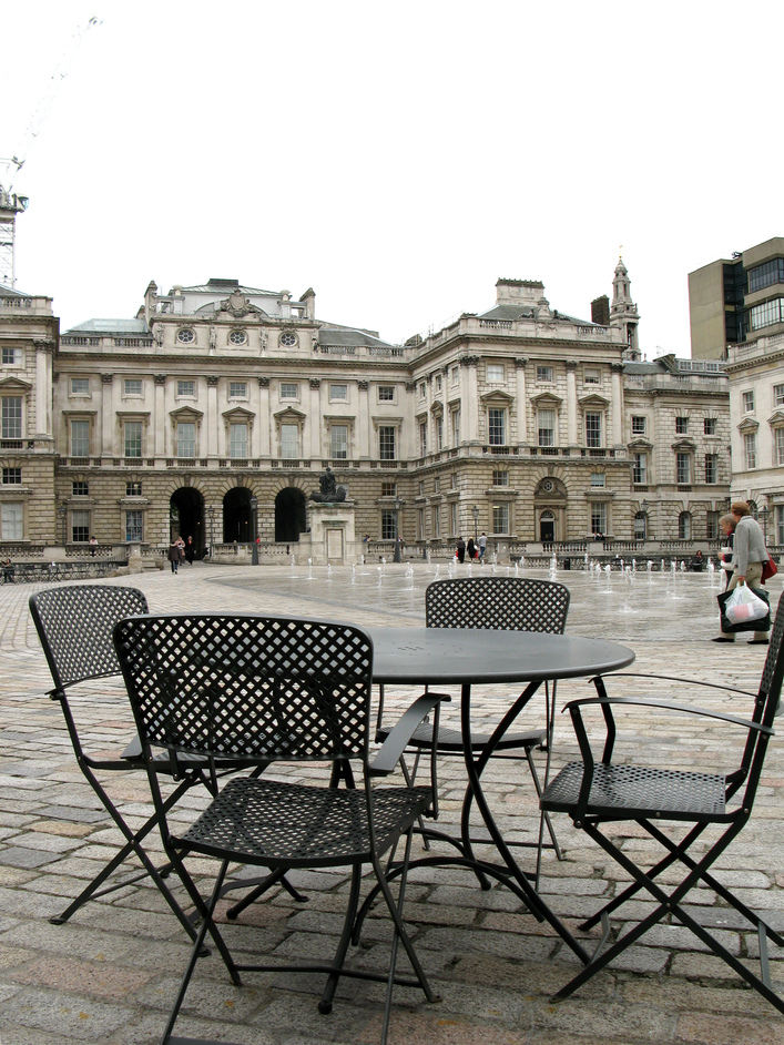 Somerset House - The Courtyard
