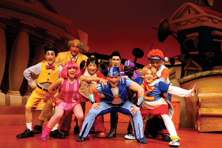 Lazytown Live The Pirate Adventure At Hammersmith Apollo London