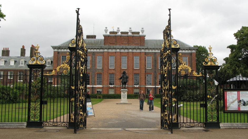 Kensington Palace - Main gates of the Palace