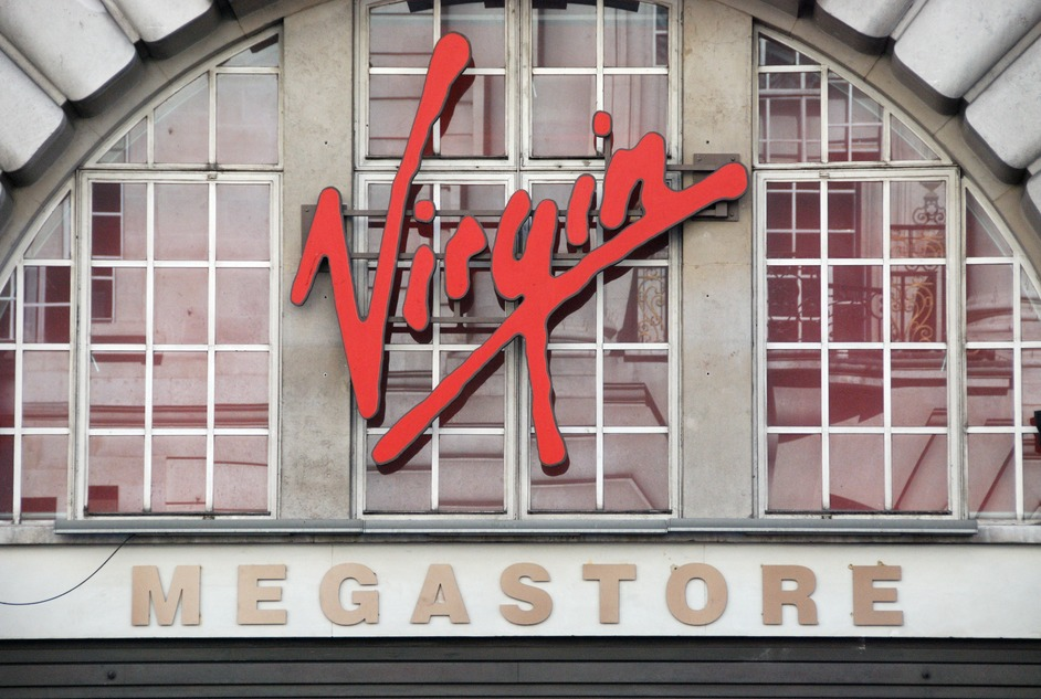london Virgin store