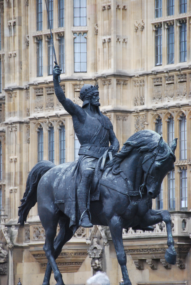 Houses of Parliament - King Richard I Statue