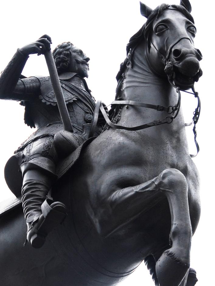 Trafalgar Square - Trafalgar Square King Charles I Statue