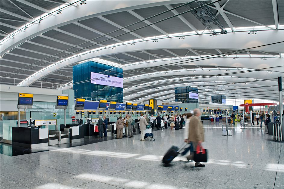 Heathrow Airport - Terminal 5 check in