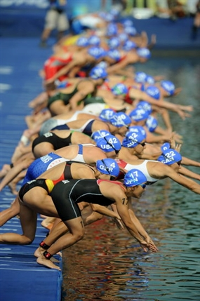 London Olympics: Triathlon