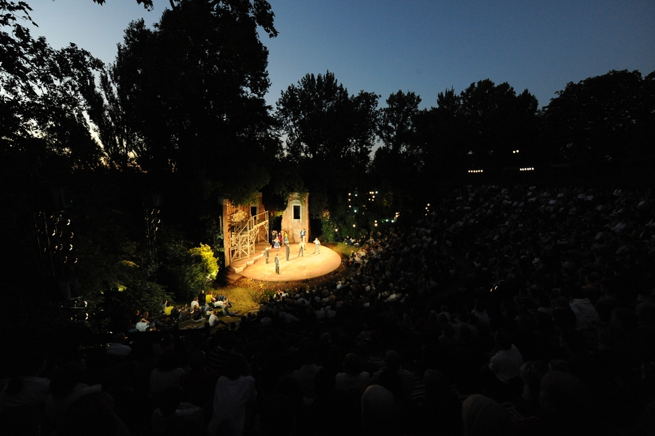 Open Air Theatre, Regent's Park - Regent's Park Open Air Theatre by Alastair Muir