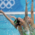 London Olympics: Synchronised Swimming