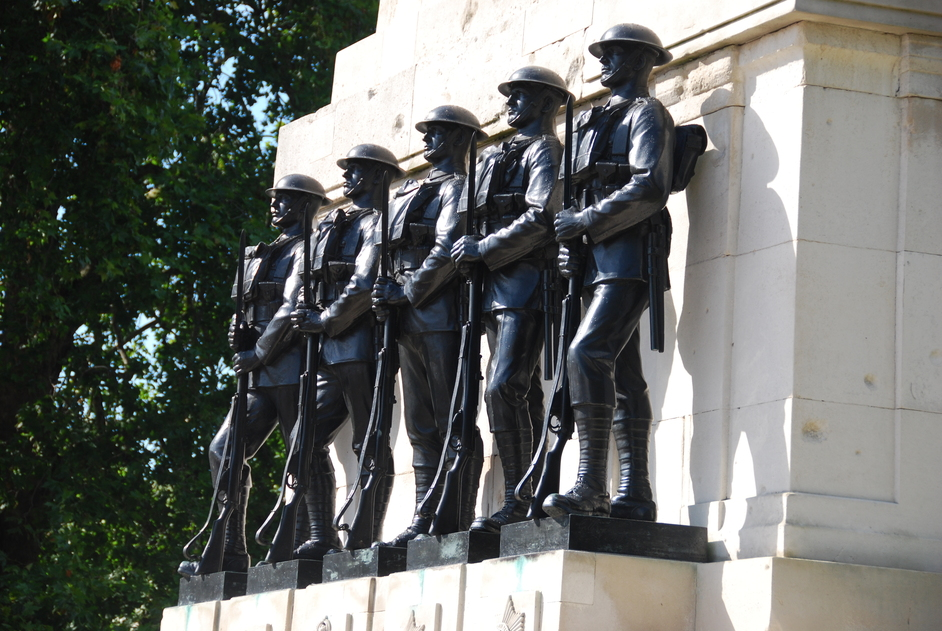 Horse Guards Parade - Guards Memorial