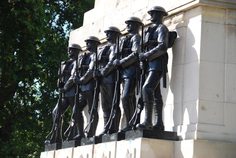 Horse Guards Parade - Guards Memorial