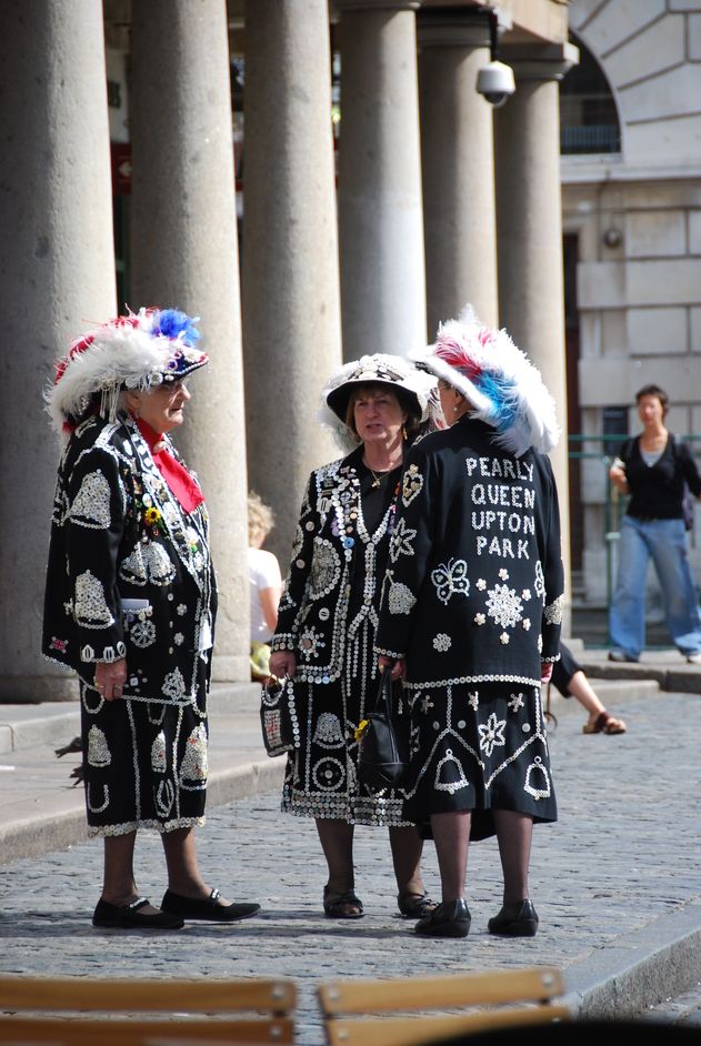 Covent Garden - Pearly Queens In Covent Garden