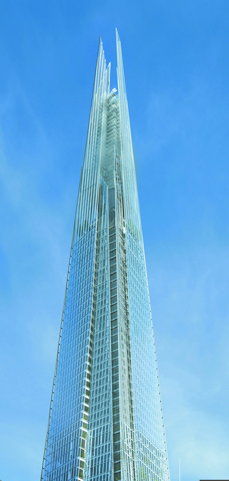 The Shard - The Shard spire, photo courtesy of Sellar Property Group