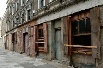 Wilton's Music Hall - by Gill Allen