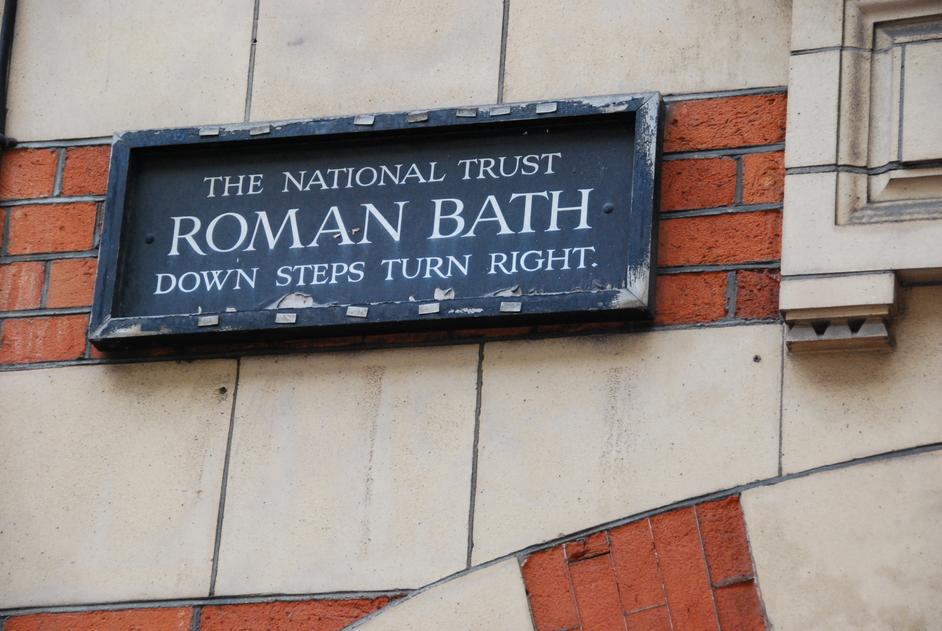 Aldwych - Roman Bath Sign