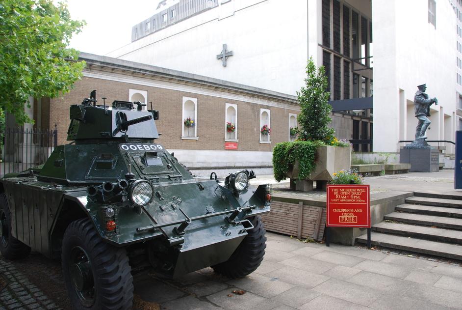 SW1E 6HQ - Guards Museum Exterior