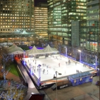 Canary Wharf Ice Skating hotels title=
