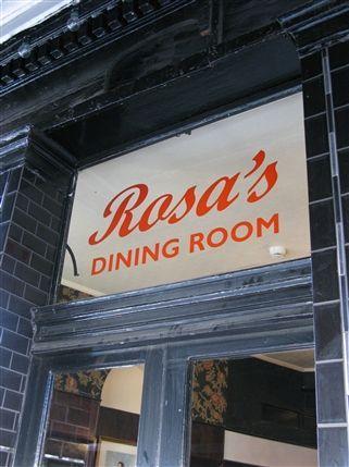 Rosa's Dining Room