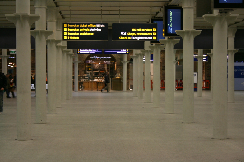 St Pancras International Station